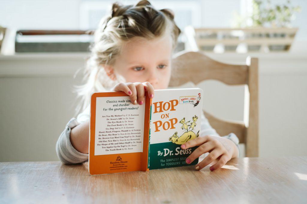 insegnare a studiare ad un bambino