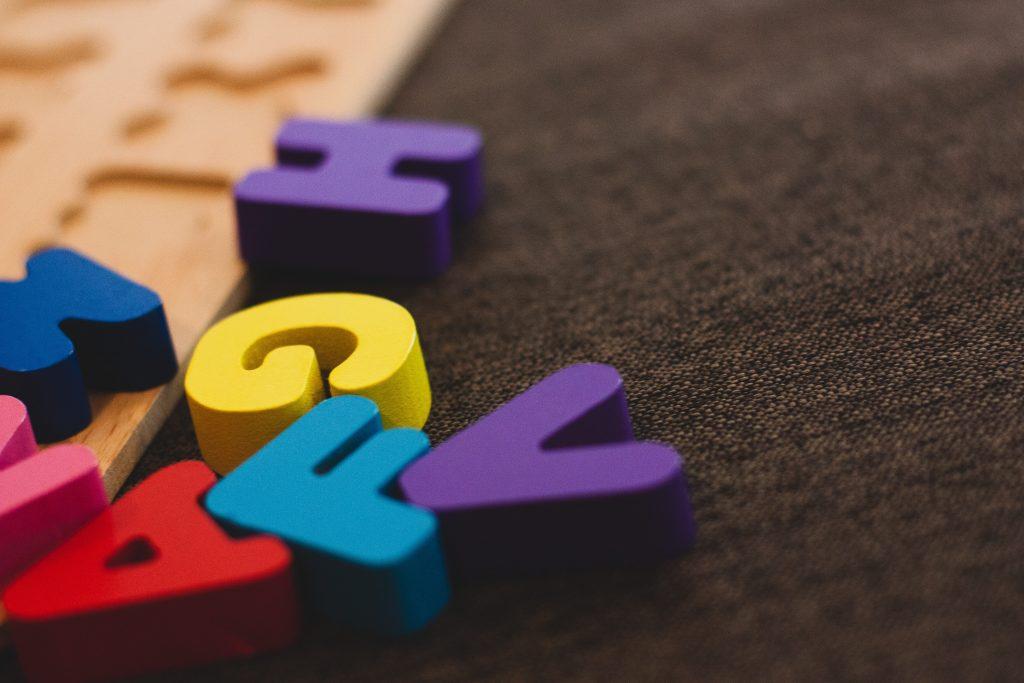 letterine alfabeto